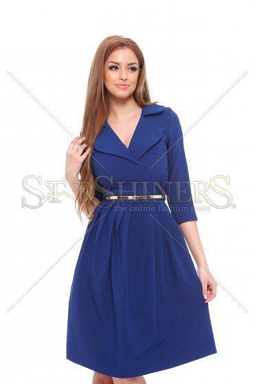 PrettyGirl Modern Look DarkBlue Dress