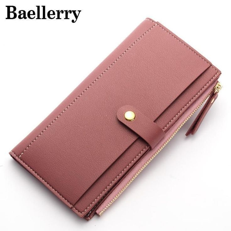 Baellerry Women Wallets Leather Wallet Female Purse Women Clutch — EpicWorldSt…