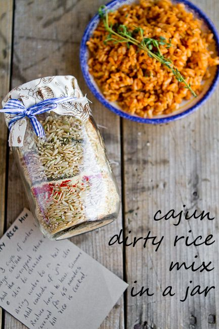 ... dirty rice mix in a jar takes just minutes to put together, and is