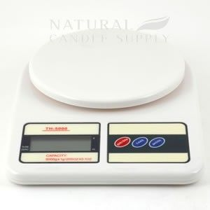 NATURAL CANDLE SUPPLY - Digital Scale - 5000 gram