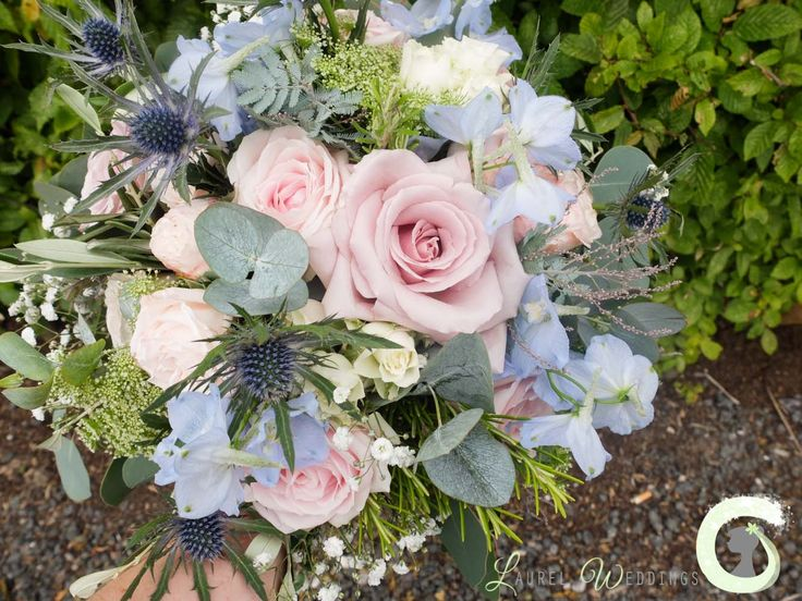 1000 ideas about dusky pink weddings on pinterest for Pink and blue flower arrangements