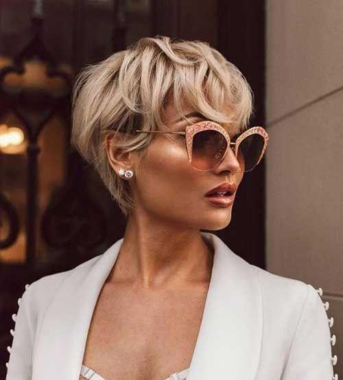 Short-Haircut.com | Short Hairstyles for bob, curly, cute, wavy, wedding, straight, and pixie hair... #pixiehair
