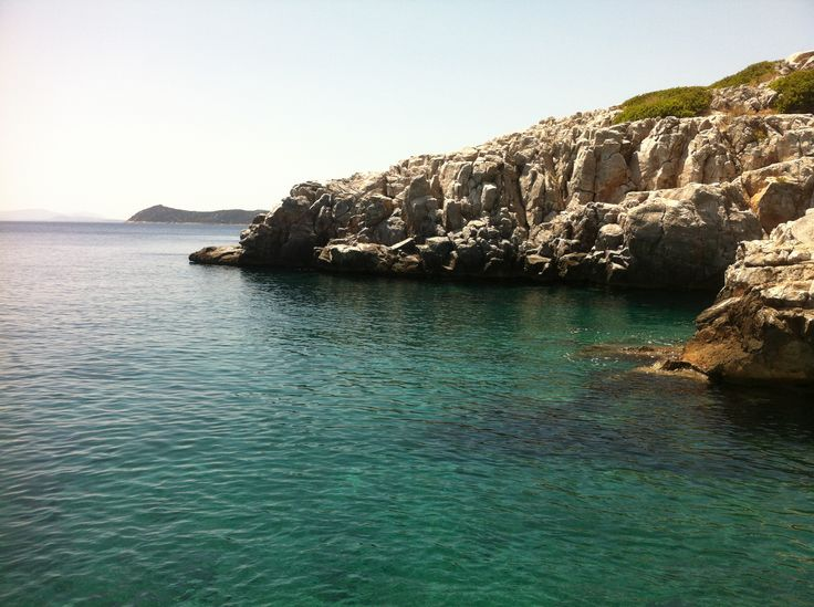 Marathon, Dikastika area in Athens Greece. Just off the coast of Schinias, a reflection of the aegean flavour.