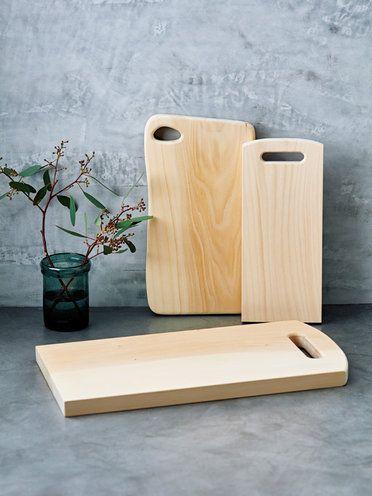 「ウッドペッカー」の「いちょうの木のまな板」