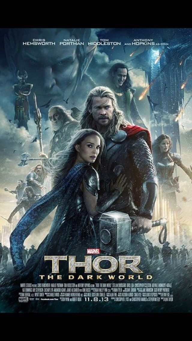 Thor Dark World.  Saw this October 31st.  I love Thor movies with the sic-fi and action....oh and Chris Hemsworth is very nice to look at!!!