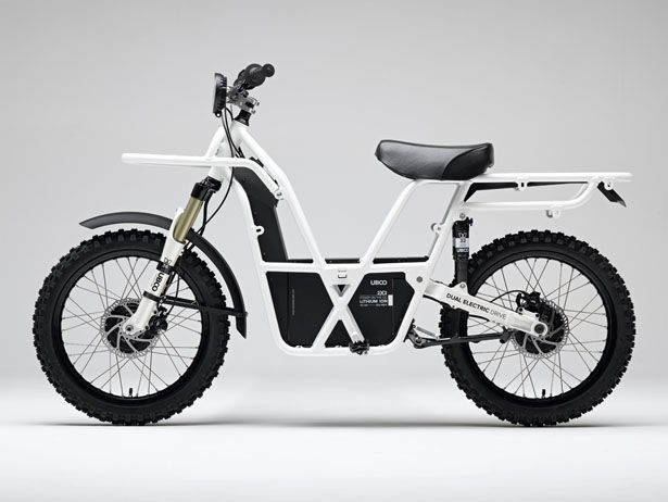 Ubco 2×2 is an electric utility bike that uses dual electric drive to help you with your work outdoors.