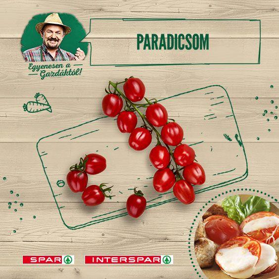 A paradicsom még egy sima vajas kenyeret is az egekig tud emelni!  De ha egy kicsit kísérleteznél, adok egy receptet: http://www.spar.hu/hu_HU/spar_chef/receptek/eloetel/grillezett_paradicsom_fuszeres_husgolyokkal.html