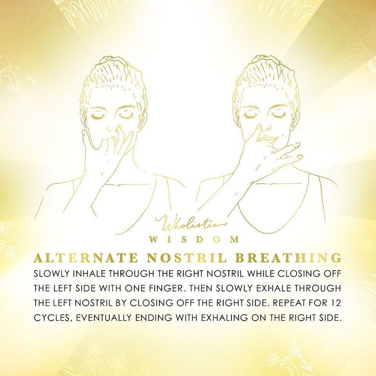Alternate Nostril Breathing for healing and relaxation