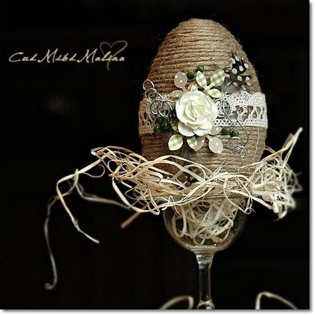 Cud Miód Malina: Jajko wielkanocne w beżach