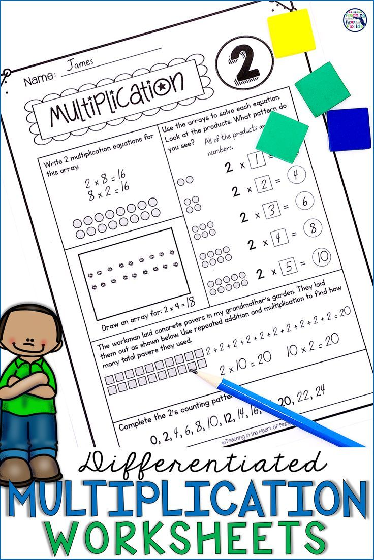 These Differentiated Activity Worksheets Are Perfect For Addressing All Skill Levels Of Multip 3rd Grade Math Math Review Worksheets Differentiation Activities [ 1103 x 736 Pixel ]