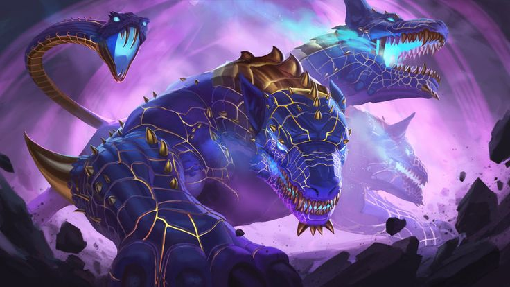 Cerberus gold mastery by on