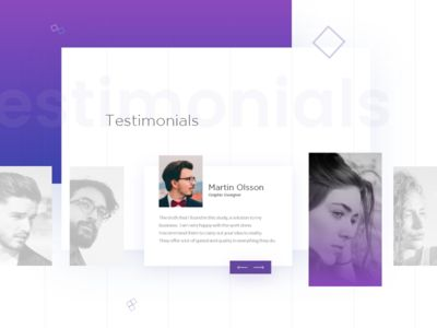 Testimonials -Team tangible page