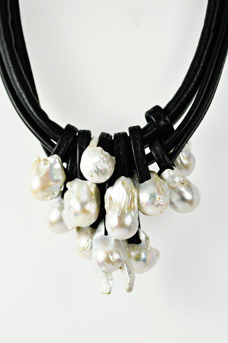 Monies Baroque Pearl Necklace