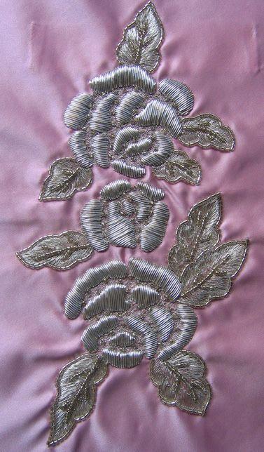 D.Thomas : Créations Broderies Haute-Couture Vêtements sur mesure  couture silver-work embroidery
