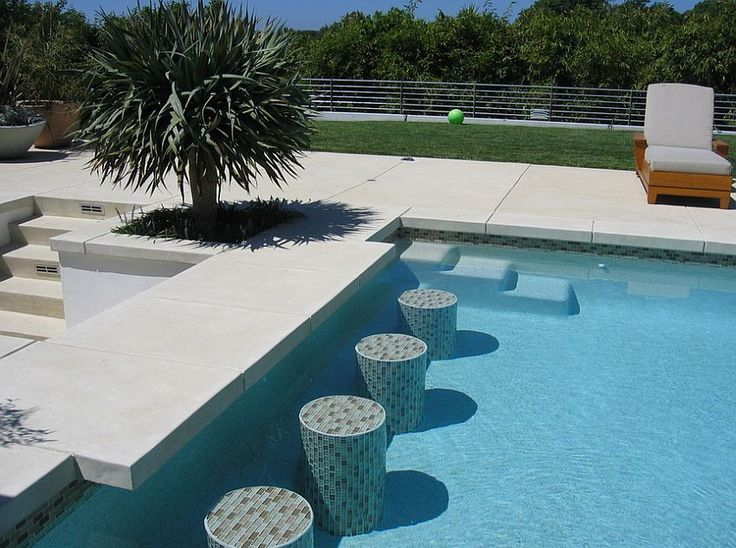 Concrete Pool Deck Ideas in ground pools concrete pool deck ideas columbus ohio 2 Outdoor Design Trend 23 Fabulous Concrete Pool Deck Ideas