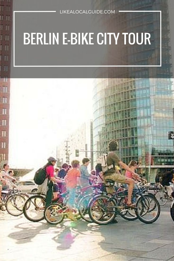 Discover even more of Berlin on our exciting E-Bike City Tour! Not only will you see many of the city's top sights, you'll also get to explore other interesting places further afield. Plus, we keep our group sizes small (up to 10 persons) to ensure a semi-private experience. https://www.likealocalguide.com/berlin/tours/berlin-e-bike-city-tour
