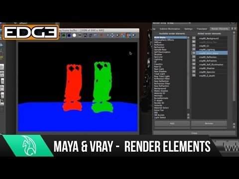 05 VRAY for Maya Rendering Tutorial Series for Beginners - Global Illumination - YouTube