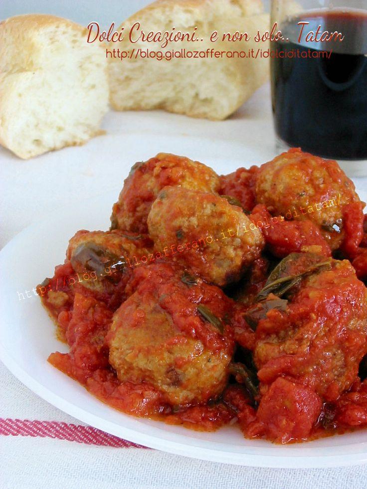 Polpette di Carne al Sugo | ricetta | Dolci Creazioni.. tatam
