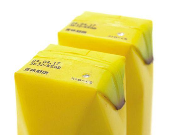 Banana juice box :)