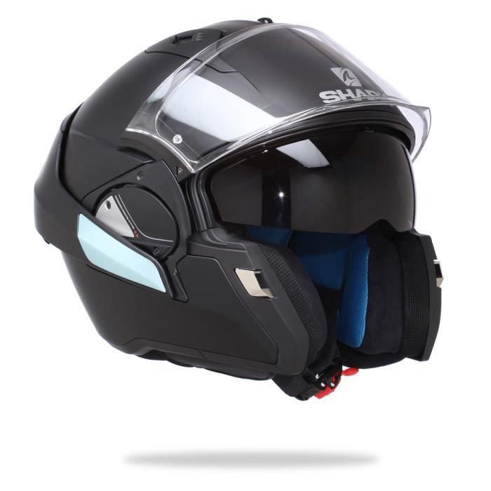 SHARK Evo One Casque Moto Modulable Noir Mat prix promo Casque de Moto Cdiscount pas cher 349.00 € TTC au lieu de 419.99 €
