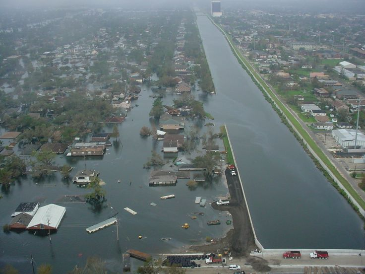 levee new orleans katrina - Google Search