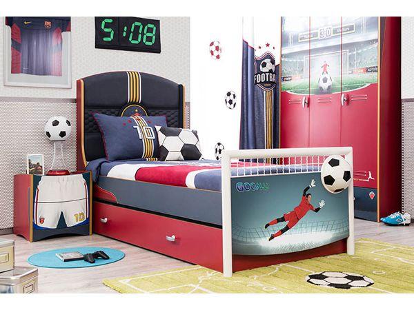 Παιδικό δωμάτιο με θέμα το ποδόσφαιρο