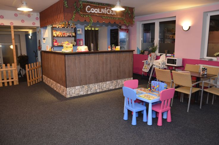 Coffeeshop with big playground #prague#child#baby#family#czech#cafe#fun