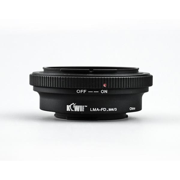 Kiwifotos Mount Adapter - Canon FD to Micro 4/3