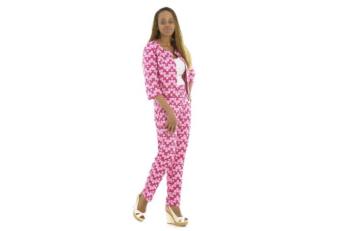 Pants Suit by Michelle Okafor African Designs on hellopretty.co.za
