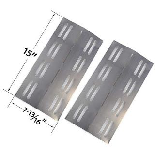Grillpartszone- Grill Parts Store Canada - Get BBQ Parts,Grill Parts Canada: Patio Chef Heat Plate | Replacement 2 Pack Stainle...
