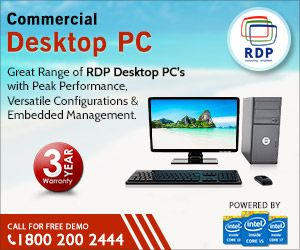 RDP Desktop PC's Comes with Three Years Warranty
