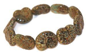 10 Czech Glass Beads Matte Bronze Snails Matte Picasso Original Exclusive Authentic Tschechische Glasperlen Schnecke 17 x 13 mm