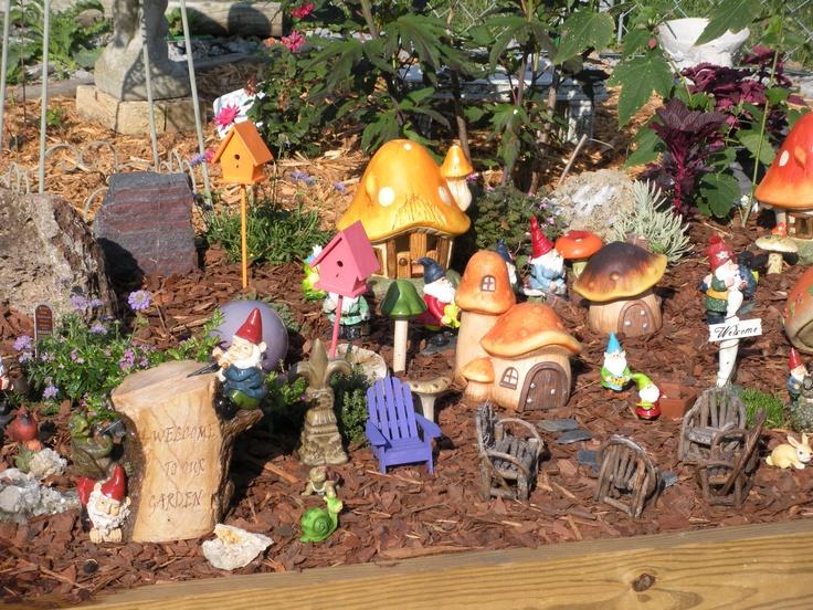 Gnome In Garden: Gnome Garden, Mini Fairy