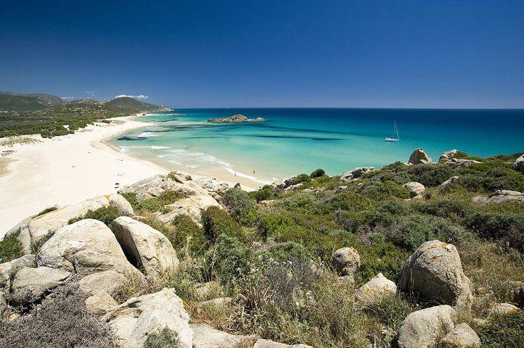 Baia of Chia, South Sardinia