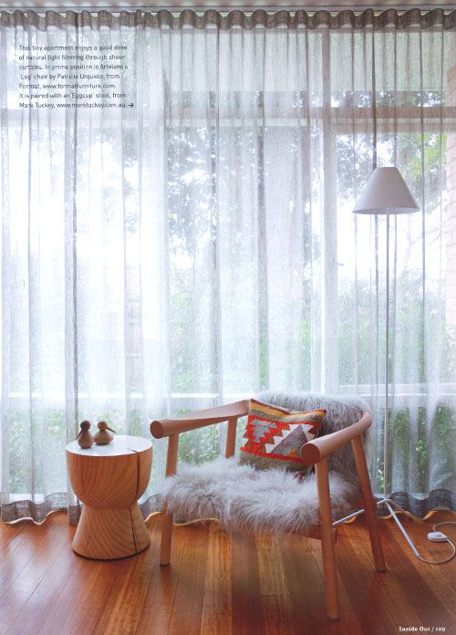 I have two chairs very similar to this one, now I need the pillows and pretty curtains!