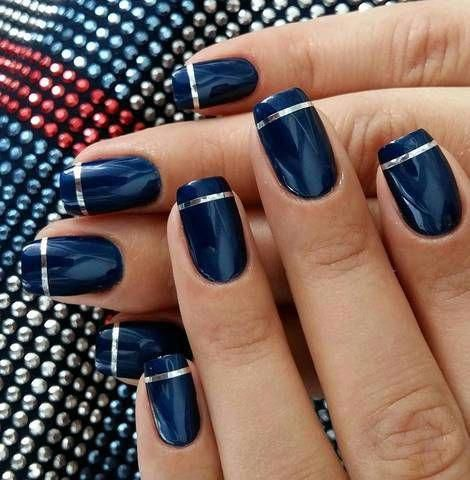 50 Pretty Nail Design Easy 2019 – Fashion & Glamour Trends 2019 – Katty Glamour …