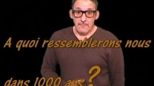 A quoi ressemblera l'homme dans 1000 ans (source de l'info metrofrance.com)