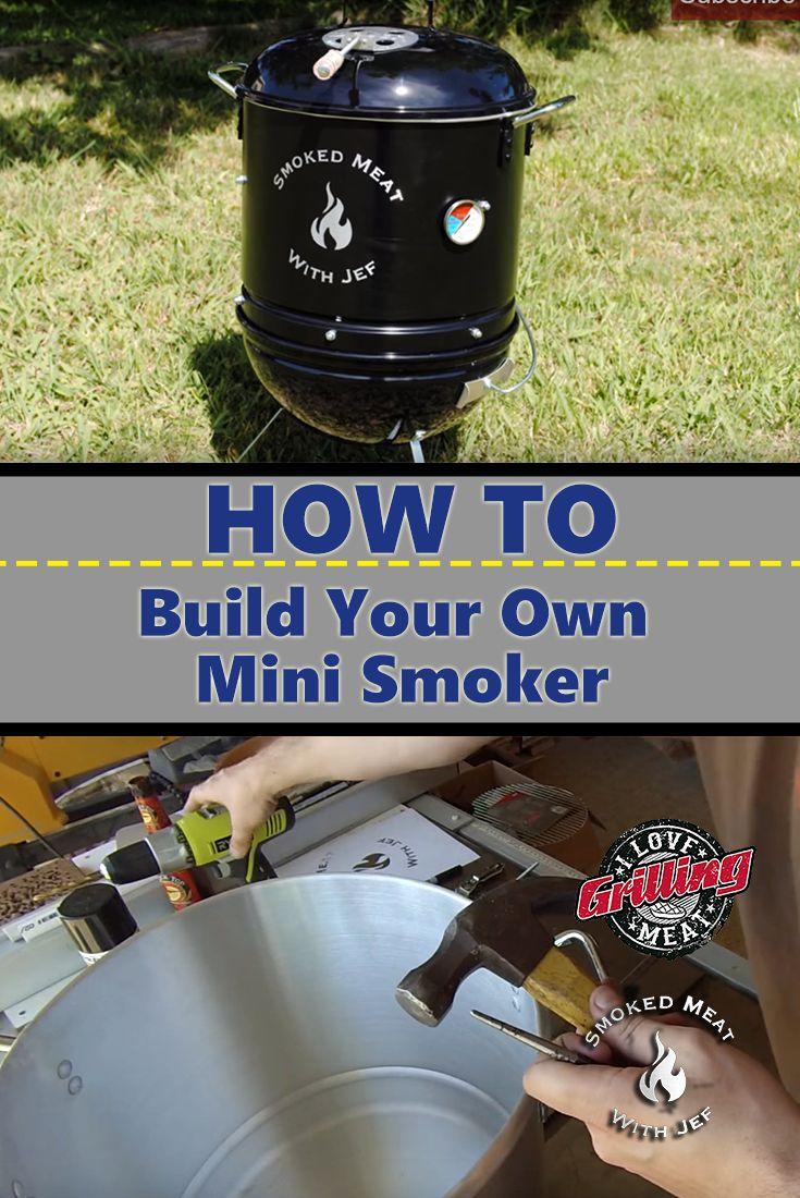 Homemade Smoker How To Build Your Own Mini Smoker