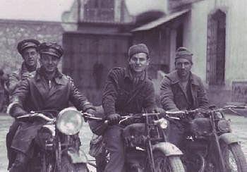 Las motocicletas en la guerra civil Española