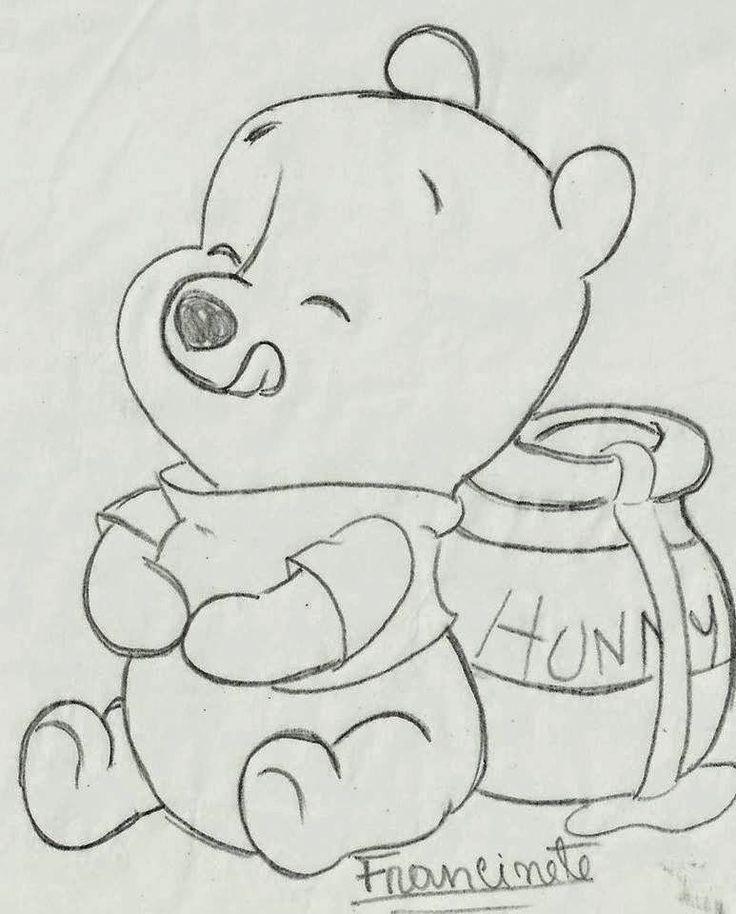 Coisinhas da Renata: Riscos Ursinho Puff Baby…