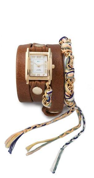 Uhr La Mer Primary Friendship Bracelet Watch