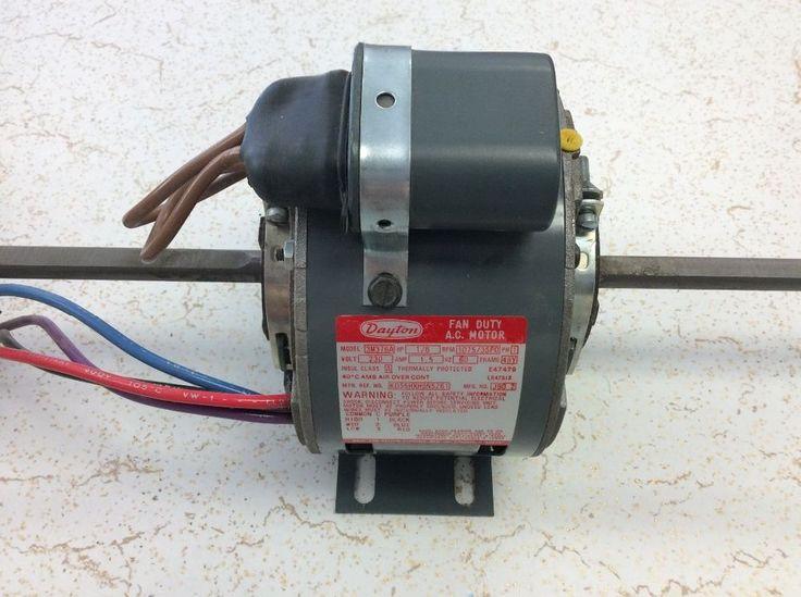 NIB.. Dayton Fan Duty AC Motor 1/6Hp, 230V Cat# 3M376A RPM 1075/3SPD #DAYTON