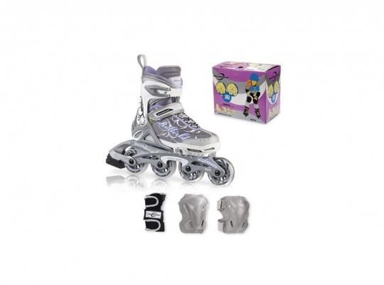 Set role copii Rollerblade Spitfire Combo G - PACHETUL CONTINE: Role, cotiere, genunchiere si palmare!  #role #rolecopii #Rollerblade