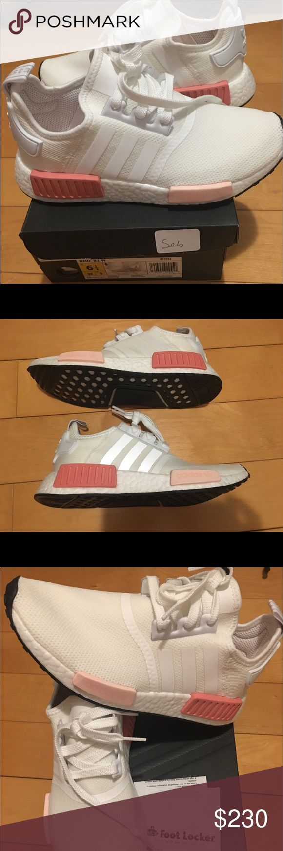 Adidas Nmd R1 women size 6 1/2 ( Icy rose ) New and authentic .bought at footlocker .size 61/2 in women .sold out size .boost technology very comfortable sneaker .come with original receipt with purchase adidas Shoes Sneakers