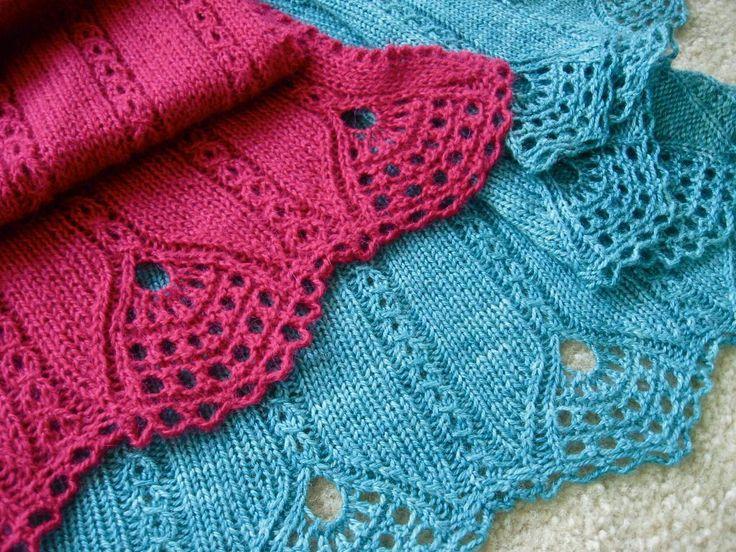 225 Best Knitting Scarves Shawls Images On Pinterest Knit