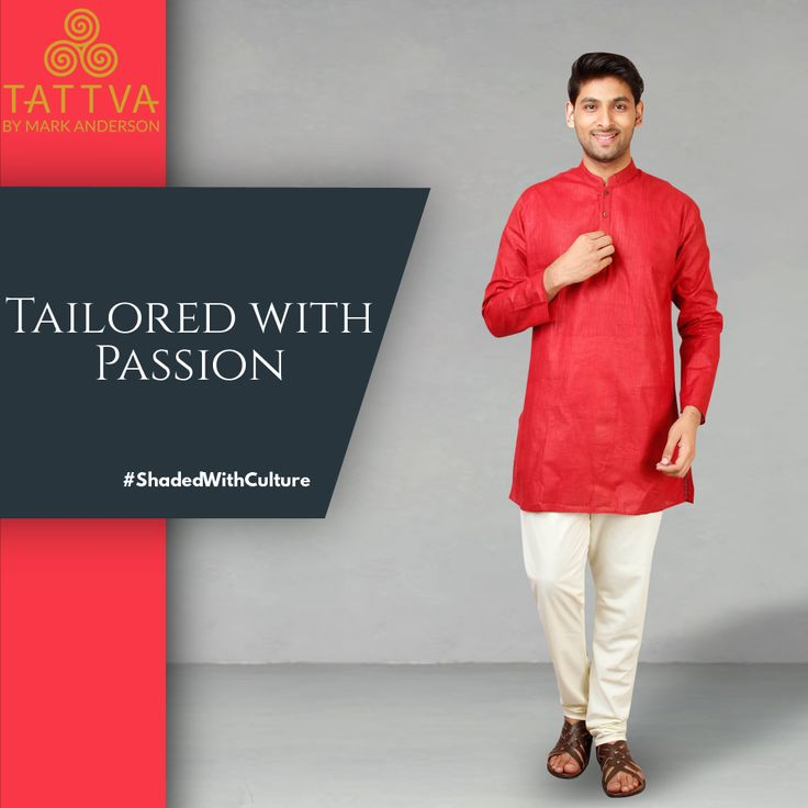 #ShadedWithCulture #Tailored with #Passion with #Tattva from Mark Anderson #Style #Silk #Comfort #Culture