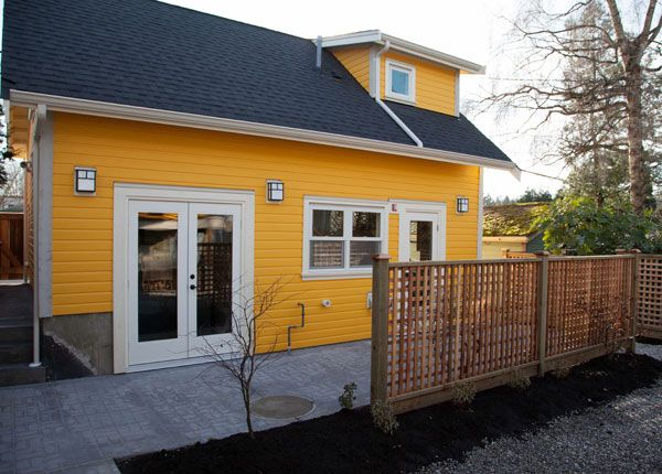 Exterior Of Our Latest Lane House In Vancouver Canada
