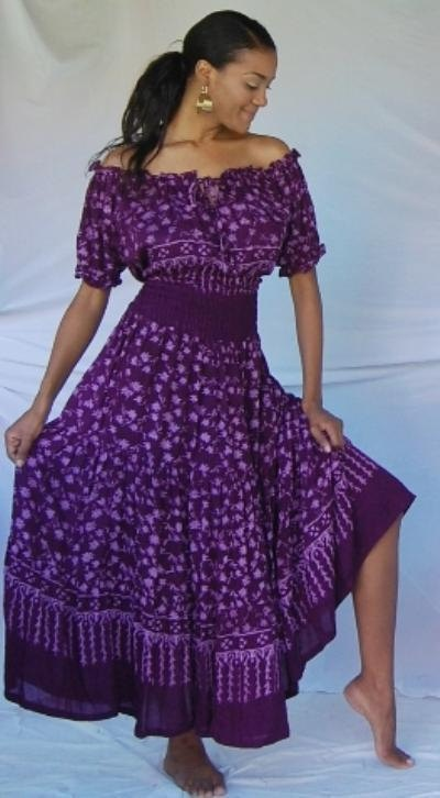 Purple Dress Latest African Fashion African Prints