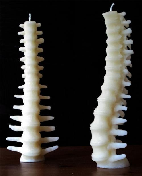a candle for your chiropractor...