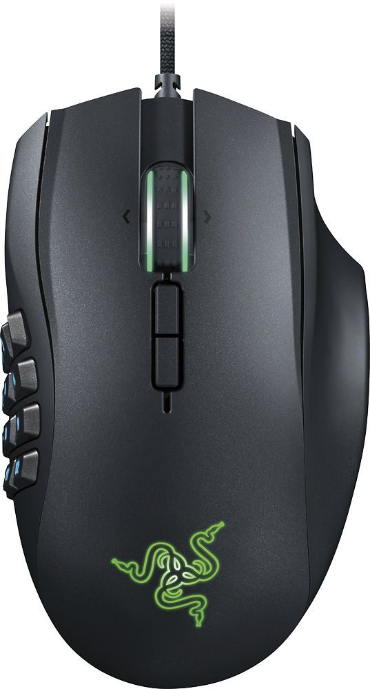 Razer  Naga Chroma USB MMO Gaming Mouse  Black